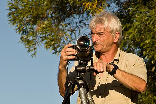 Unser Trainer für Reisefotografie und Tierfotografie Paul Kornacker.
