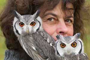 Unsere Fototrainerin für die Tier- und Vogelfotografie Rosl Rößner.