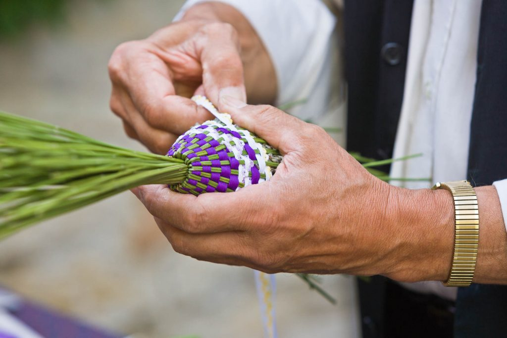Lavendelstrauß, Provence, Frankreich