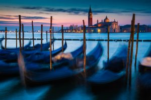 Gondeln in Venedig