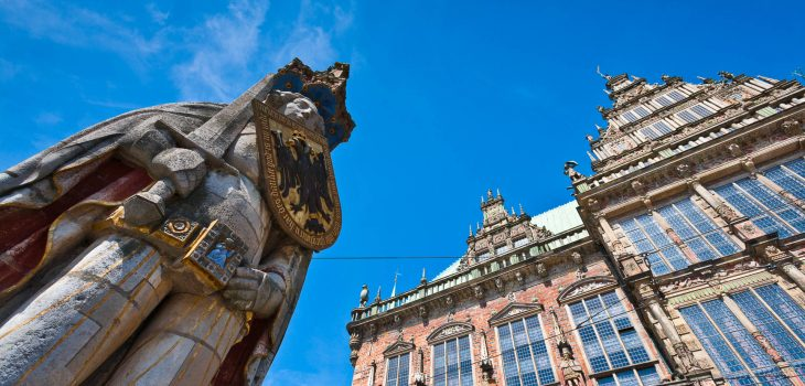 Roland und Bremer Rathaus